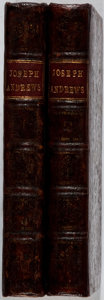 Books:Literature Pre-1900, Henry Fielding. The History of the Adventures of Joseph Andrewsand of his Friend Mr. Abraham Adams. Vol. I & II....(Total: 2 Items)