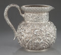 Silver Holloware, American:Pitchers, A S. KIRK & SON SILVER PITCHER. S. Kirk & Son, Baltimore,Maryland, circa 1890. Marks: S. Kirk & Son, 11 OZ, 11.8-1/4 i...