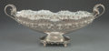 Silver Holloware, Continental:Holloware, AN AGMA ITALIAN SILVER CENTER BOWL. Agma, Milan, Italy, circa 1950.Marks: Agma, FESELLATO, A MANO, 316 MI (within lozen...