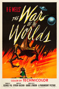 """Movie Posters:Science Fiction, The War of the Worlds (Paramount, 1953). One Sheet (27"""" X 41"""").. ..."""