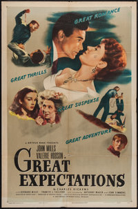 "Great Expectations (Universal International, 1946). One Sheet (27"" X 41""). Drama"