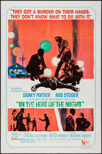 "In the Heat of the Night (United Artists, 1967). One Sheet (27"" X 41""). Academy Award Winners"