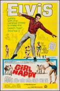 "Movie Posters:Elvis Presley, Girl Happy (MGM, 1965). One Sheet (27"" X 41""). Elvis Presley.. ..."