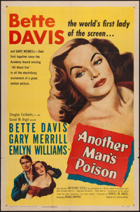 """Another Man's Poison (United Artists, 1952). One Sheet (27"""" X 41""""). Crime"""