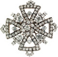 Luxury Accessories:Accessories, Chanel Crystal Brooch. ...