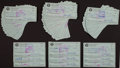 Baseball Collectibles:Others, Bobby Thomson Signed Checks Lot of 100. ...