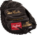 Baseball Collectibles:Others, . Johnny Bench Signed Catcher's Mitt....