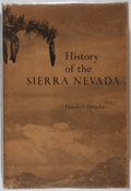 Books:Americana & American History, Francis P. Farquhar. SIGNED. History of the Sierra Nevada.University of California, 1965. First edition, first ...
