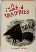 Books:Horror & Supernatural, Edward Gorey [Jacket Illustrator]. Raymond T. McNally [editor].A Clutch of Vampires. Bell, 1974. Later edition....