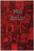 Books:Science Fiction & Fantasy, Philip K. Dick [subject]. Daniel J. H. Levack [editor].SIGNED/LIMITED. PKD: A Philip K. Dick Bibliography. Unde...