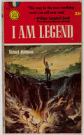 Books:Science Fiction & Fantasy, Richard Matheson. I Am Legend. Gold Medal Books/Fawcett 1954. First edition, first printing (July 1954). The first a...