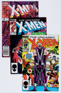 Modern Age (1980-Present):Superhero, X-Men Group (Marvel, 1985-89) Condition: Average NM-.... (Total: 33Comic Books)