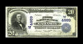 National Bank Notes:Wyoming, Laramie, WY - $20 1902 Plain Back Fr. 657 The First NB Ch. #(W)4989. An amply margined Fine we'd have been tempted ...