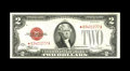 Small Size:Legal Tender Notes, Fr. 1507* $2 1928F Legal Tender Note. Gem Crisp Uncirculated.. This is the nicest note out of the consecutive trio as the ma...