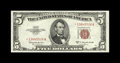 Small Size:Legal Tender Notes, Fr. 1535* $5 1953C Legal Tender Note. Very Choice Crisp Uncirculated.. Nice paper wave is seen on this creamy white note wit...