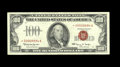 Small Size:Legal Tender Notes, Fr. 1550* $100 1966 Legal Tender Note. Extremely Fine.. This is a stunning beauty of a star note that is fully original with...