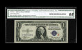 Small Size:Silver Certificates, Fr. 1610 $1 1935A S Silver Certificate. CGA Gem Uncirculated 68.. Notes at this lofty level do not happen often. A nicer exa...