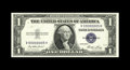 Small Size:Silver Certificates, Fr. 1614 $1 1935E Silver Certificate. Serial Number 5 Choice Crisp Uncirculated.. This single-digit serial number V00000005H...