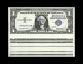 Small Size:Silver Certificates, Fr. 1619 $1 1957 Silver Certificates. Thirty-Two Examples Treasury Presentation Set # 13 Gem Crisp Uncirculated.. This speci... (Total: 32 notes)