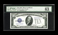 Small Size:Silver Certificates, Fr. 1700 $10 1933 Silver Certificate. PMG Choice Uncirculated 63 EPQ.. This lovely example of the key piece to the Silver Ce...