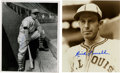 Autographs:Photos, Rick Ferrell and Bill Terry Singed Photographs Lot of 2. Signed8x10 black and white photographs of two members of Baseball...