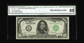 Small Size:Federal Reserve Notes, Fr. 2211-K $1000 1934 Federal Reserve Note. CGA Gem Uncirculated 65.. Dallas is the key district in the 1934 $1000 series, w...