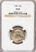 Proof Washington Quarters: , 1939 25C PR65 NGC. NGC Census: (332/577). PCGS Population(612/661). Mintage: 8,795. Numismedia Wsl. Price for problemfree...