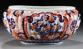 Asian:Japanese, A JAPANESE IMARI PORCELAIN OVAL JARDINIÈRE. Unknown maker, Imari,Japan, circa 1900. Unmarked. 6 x 13 x 9-7/8 inches (15.2 x...