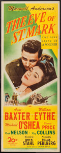 "Movie Posters:War, The Eve of St. Mark (20th Century Fox, 1944). Insert (14"" X 36"").War.. ..."