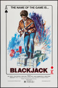 "Movie Posters:Blaxploitation, Blackjack (SES, 1978). One Sheet (27"" X 41""). Blaxploitation.. ..."