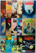 Books:Science Fiction & Fantasy, Galileo: Magazine of Science and Fiction. Continuous Run of the First 15 Issues. Galileo Magazine, 1976-1980. Occasi... (Total: 15 Items)