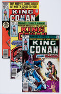 Modern Age (1980-Present):Science Fiction, King Conan/Conan the King Group (Marvel, 1980-89) Condition:Average VG/FN.... (Total: 50 Items)