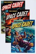 Golden Age (1938-1955):Science Fiction, Tom Corbett Space Cadet #5, 8, and 9 File Copies Group (Dell, 1952) Condition: Average NM-.... (Total: 3 Comic Books)