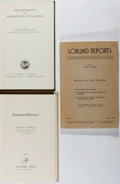 Books:Medicine, [Immunology]. Group of Three Books. Various, 1936-1961. Verygood.... (Total: 3 Items)