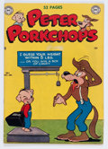 Golden Age (1938-1955):Funny Animal, Peter Porkchops #1 (DC, 1949) Condition: FN+....