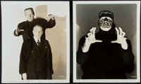 """The Ghost of Frankenstein (Universal, 1942). Portrait Photos (2) (8"""" X 10""""). ... (Total: 2 Items)"""
