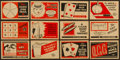 Non-Sport Cards:Sets, 1930's V305 O-Pee-Chee Magic Cards Complete Set (48). ...