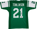 Football Collectibles:Uniforms, LaDainian Tomlinson Signed New York Jets Jersey. ...