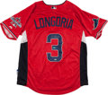 Baseball Collectibles:Uniforms, Evan Longoria Signed American League All Star Jersey....