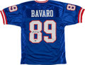 Football Collectibles:Uniforms, Mark Bavaro Signed New York Giants Jersey. ...