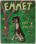 Books:Children's Books, Leo Politi. INSCRIBED/ORIGINAL WATERCOLOR. Emmet. Scribners,1971. Signed and inscribed by the author with origina...