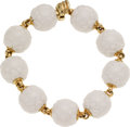 Estate Jewelry:Bracelets, Porcelain, Gold Bracelet, Bvlgari. ...