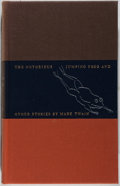 Books:Literature Pre-1900, [Limited Editions Club]. Mark Twain. SIGNED / LIMITED. TheNotorious Jumping Frog & Other Stories. Limited Editi...