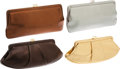 Luxury Accessories:Bags, Set of 4- Lambertson Truex Metallic Clutches. ... (Total: 4 Items)