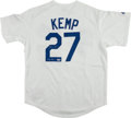 "Baseball Collectibles:Uniforms, Matt Kemp ""The Bison"" Signed Los Angeles Dodgers Jersey. ..."