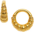 Estate Jewelry:Earrings, Gold Earrings, Lalaounis . ...