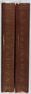 Books:Literature Pre-1900, [Limited Editions Club]. William Makepeace Thackeray. SIGNED /LIMITED. Vanity Fair. Limited Editions Club, 1931... (Total:2 Items)