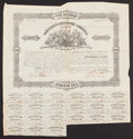 Confederate Notes:Group Lots, Ball 93 Cr. 66 $500 1861 Bond Fine.. ...