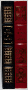 Books:Literature Pre-1900, Homer. Two Easton Press Titles, including: The Odyssey.[and:] The Iliad. Easton Press: 1978, 1979. ... (Total: 2Items)