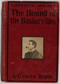 Books:Mystery & Detective Fiction, Arthur Conan Doyle. The Hound of the Baskervilles. Grosset & Dunlap, 1902. Fourth impression. Publisher's bindin...